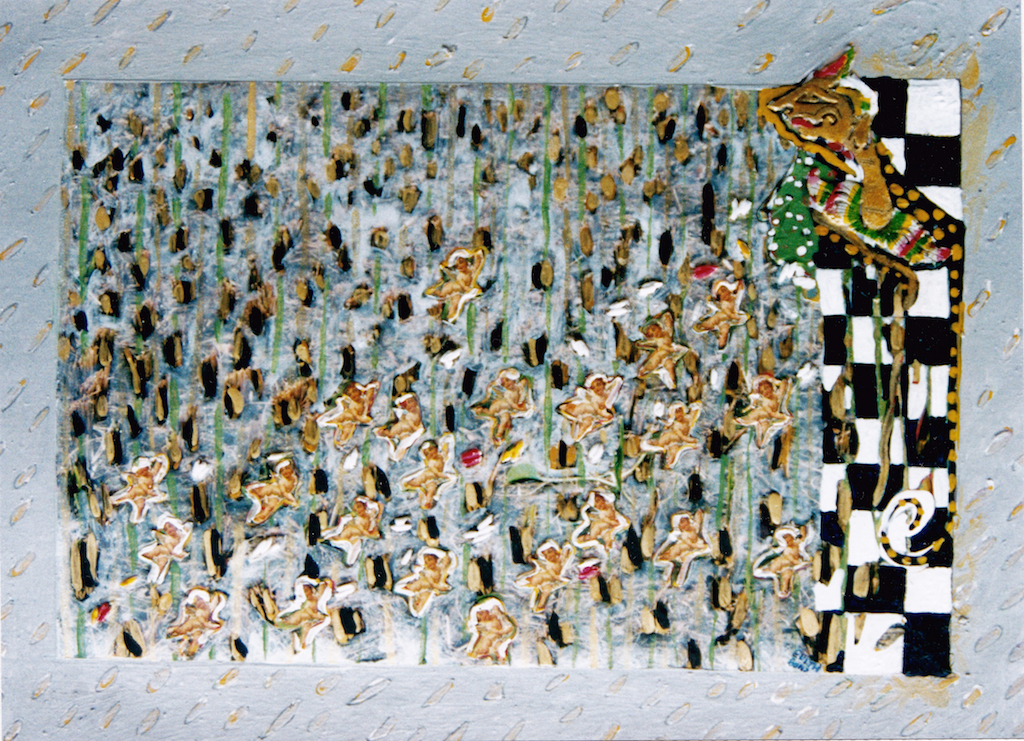 CUPIDO Gem. techn. op karton 25x35 cm